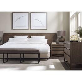 Dalton Nutmeg Platform Bedroom Set