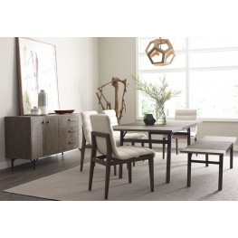 Dalton Nutmeg Dining Room Set