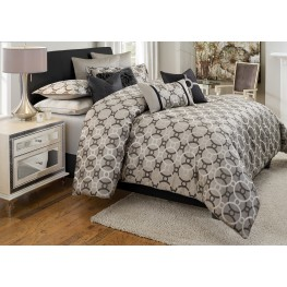 Daytona King 10 Pcs Comforter Set
