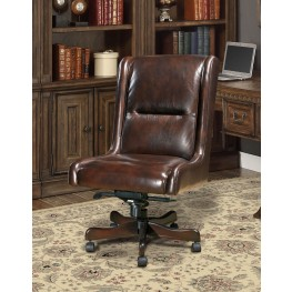 Cigar Leather Desk Chair