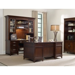 Latitude Brown Home Office Set