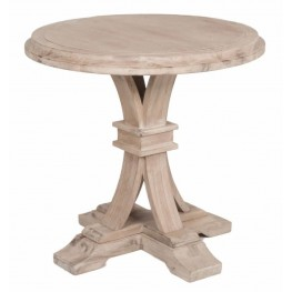 Devon Stone Wash Round Accent Table