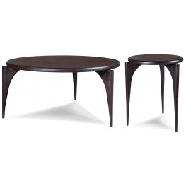 Emerson Rosewood Round Occasional Table Set