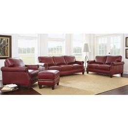 Dalton Leather Living Room Set