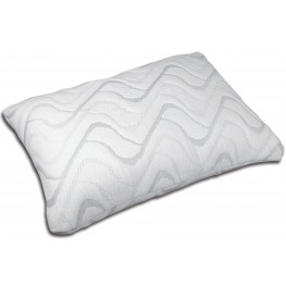 Gardenia White Gel-Infused Memory Foam Pillow