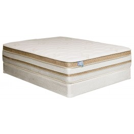 "Zinnia 15"" Gel-Infused Euro Pillow Top Cal. King Mattress"