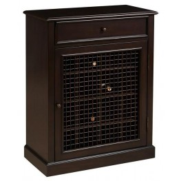 DS-2188-304 Dark Wood Wine Cabinet