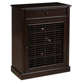 DS-2188-304 Dark Wood Wine Cabinet