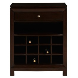 DS-2190-304 Dark Wood Wine Cabinet