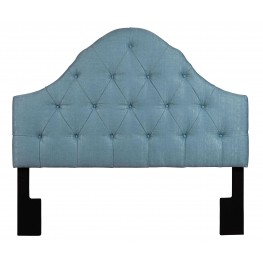 King-Cal. King Tuxedo Seafoam Upholstered Headboard