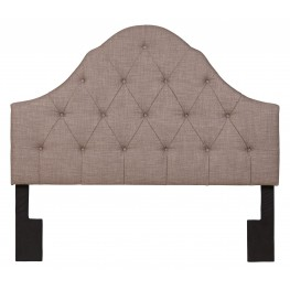 King-Cal. King Softex Slate Upholstered Headboard