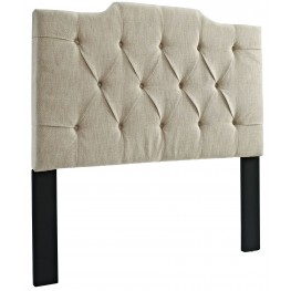 Full/Queen Tufted Linen Headboard