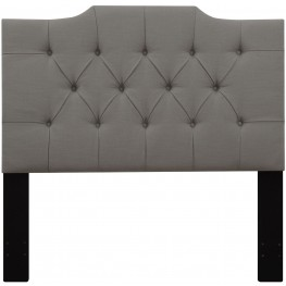 Ash Full/Queen Upholstered Panel Headboard