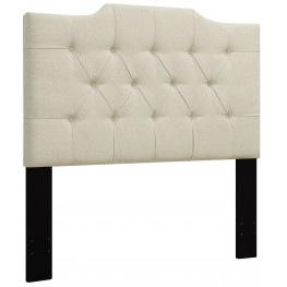 Beige King/Cal. King Upholstered Headboard