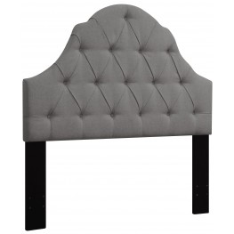 Ash King/Cal. King Button Tufted Upholstered Headboard
