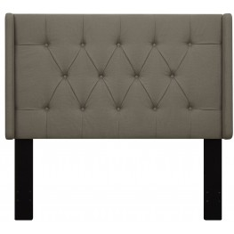 Taupe Full/Queen Upholstered Headboard
