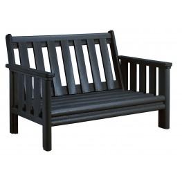 Stratford Black Deep Seating Loveseat Frame