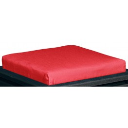 Stratford Jockey Red Small Ottoman Cushion