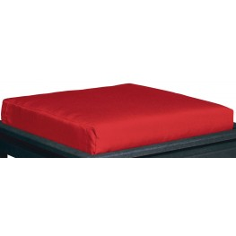 Stratford Jockey Red Large Ottoman Cushion