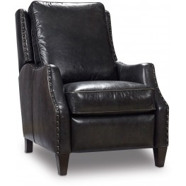 Cooper Black Leather Recliner
