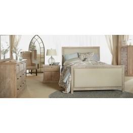 Eden Stone Wash Upholstered Panel Bedroom Set