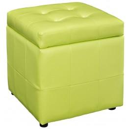 Volt Storage Light Green Ottoman