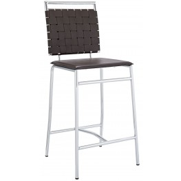 Fuse Brown Counter Stool
