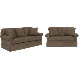 Audrey Chenille Fabric Living Room Set