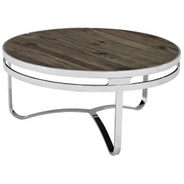 Provision Brown Wood Top Coffee Table