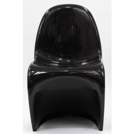 Slither Chair in Glossy Black