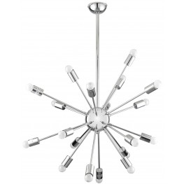Volley Silver Pendant Light