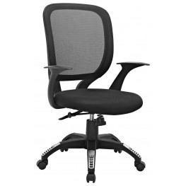 Scope Black Office Chair
