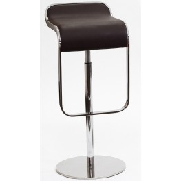 LEM Barstool in Brown Genuine Leather