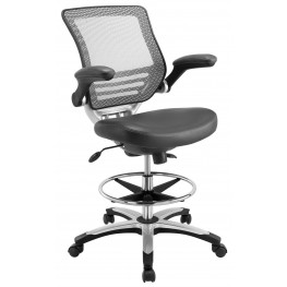 Edge Gray Drafting Chair