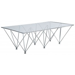 Prism Clear Coffee Table