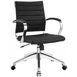 Jive Black Mid Back Office Chair