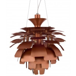 505-COP Petal Copper Lamp