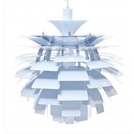 505-WHI Petal White Lamp