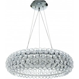 Acrylic Crystal Halo Chandelier