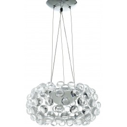 "Halo Clear 14"" Chandelier"