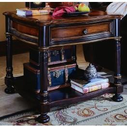 Preston Ridge Black Lamp Table