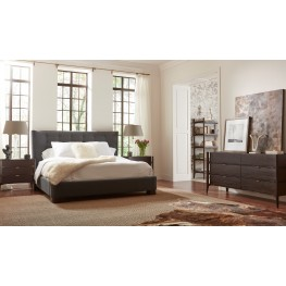 Emerson Rosewood Upholstered Bedroom Set