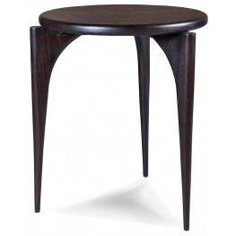 Emerson Rosewood Round End Table