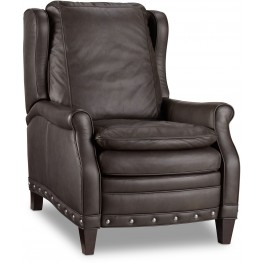 Henry Gray Leather Recliner