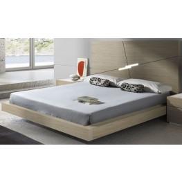 Evora Wenge Queen Platform Bed