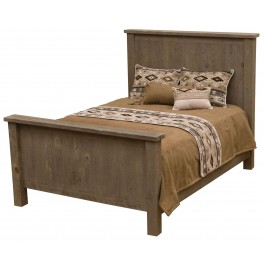 Frontier Driftwood Twin Traditional Headboard
