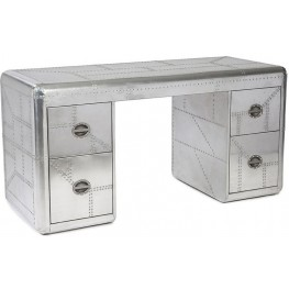 Lindbergh Silver Desk