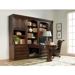 European Renaissance II Brown Home Office Set