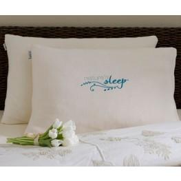 Queen Faux Down Pillow