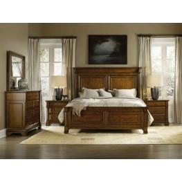 Tynecastle Brown Panel Bedroom Set